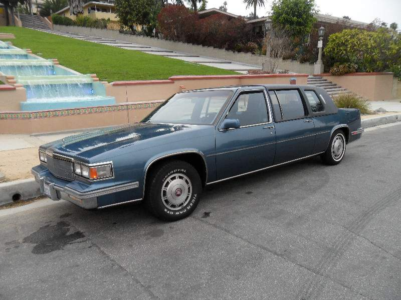 Image of Cadillac Fleetwood 75 Series Limousine