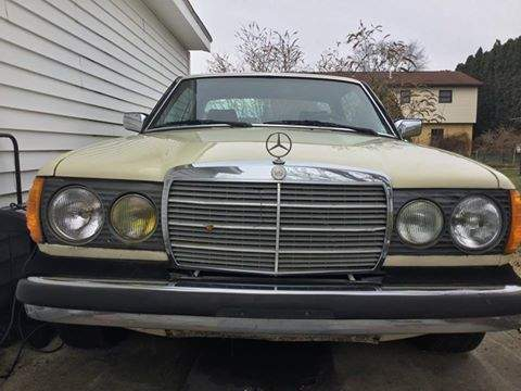 Image of 1983 Mercedes Benz 300CD Turbo Diesel Coupe (PA) -